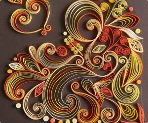 Quilling in Autumn Shades
